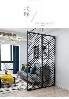 Home Grill Design, Balcony Grill Design, Window Grill Design, Home Room Design, Living Room Designs, House Design, Living Room Partition Design, Room Partition Designs, Jaali Design