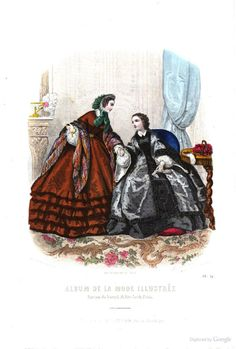 1861 Jan La Mode illustrée