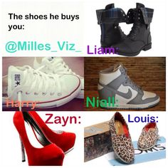 One Direction Imagines Preferences | One Direction Preferences #1 The Shoes He Buys You: