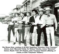 Warner Brothers television cowboys.