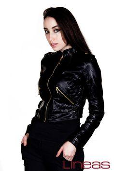 Chamarra, Modelo 19673. Precio $250 MXN #Lineas #outfit #moda #tendencias #2014 #ropa #prendas #estilo #primavera #outfit #chamarra