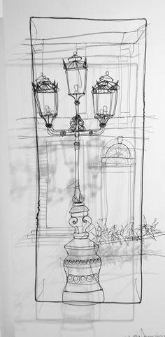 Helaina Sharpley wire art