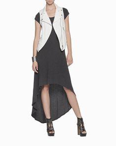 #Maxi Dress with #Cute Jacket & Cutout Heels - Such a Cute Look