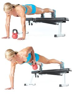 Fitness kettle bell workouts for women