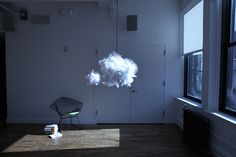 The Cloud: An Atmospheric Nightlight+Speaker by Richard Clarkson