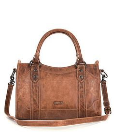 Frye Melissa Washed Leather Satchel #Dillards