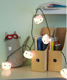 I think I need these lights for work :)