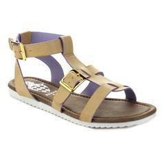 Jacobies Women's Zara-4-JA Ankle Strap Gladiator Sandals (-5.5)