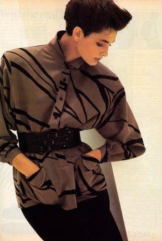 Jaeger, Harper's Bazaar, September 1984.
