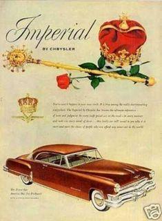 Chrysler Imperial Car (1952)