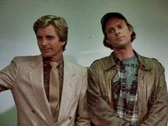 Face and Murdock from the a-team...looking pretty 80's there, Faceman. <3