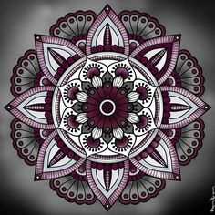 Simple Color Scheme LOTS Of Texture Great Coloring By Ann Trahan Brown From Our New Mandalas XV Book Have You Tried The Pigment App