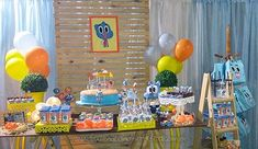 7th Birthday, Cake, Party, Desserts, Kids, Ideas Para, Rooms, Birthday Party Ideas, Ideas Party