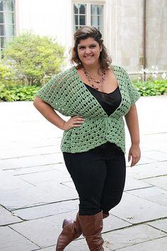 Ravelry: [Plus Size] Lyra Vest pattern by Abigail Haze