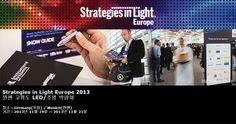 Strategies in Light Europe 2013 뮌헨 고휘도 LED/조명 박람회