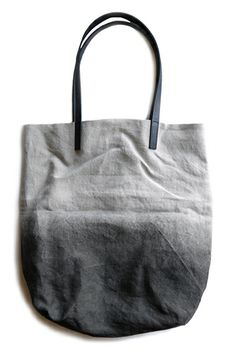 21 Totes Perfect Everyday Bags #refinery29 http://www.refinery29.com/tote-bags#slide17 Margarete Häusler Charcoal Linen Tote Bag, $128, available at Vuela Boutique.