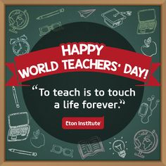 Happy World Teachers' Day!