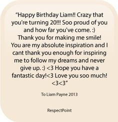 Birthday wish #36 #LiamPayne