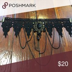 Gothic lace choker Gorgeous, gothic lace choker. NWOT Jewelry Necklaces