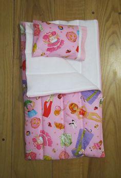 American Girl Doll Sleeping Bag Paper Dolls