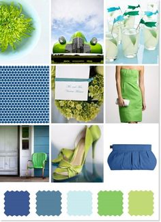 This could work as the inspiration color palette for the upstairs - look at greens for laundry