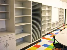 Elementary art classroom organization middle school 32 Ideas for 2019 Art Classroom Layout, Art Classroom Decor, Classroom Furniture, Classroom Design, Classroom Ideas, Classroom Inspiration, School Classroom, Art Studio Storage, Art Studio Organization
