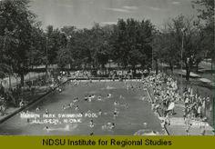 Harmon Park swimming pool, Williston, N.D.