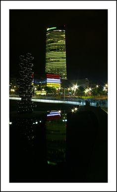 Torre iberdrola (desde muelles de Euskalduna)