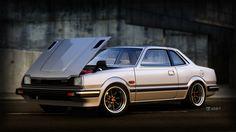 Honda Prelude - Still renders on Behance