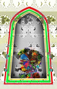 Geneticly Reorganized Medusa - Limited Edition of 10 Artwork Conceptual Art, New Media, Medusa, Fractals, New Art, New Recipes, Paper Art, Saatchi Art, Original Art