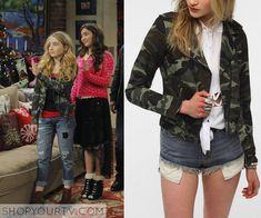 Girl Meets World: Season 1 Episode 16 Maya's Camo Moto Jacket