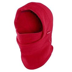 Mask Face Ski Neck Motorcycle Winter Balaclava Full Cap Hat Fleece Thermal Cover #WinterSkiMaskRED