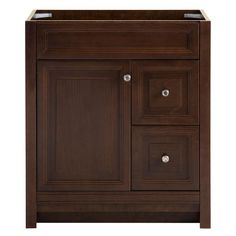 Home Decorators Collection Brinkhill 30 in. W Vanity Cabinet Only in Cognac-BHSD30-CG - The Home Depot
