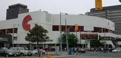 Copps Coliseum- Downtown Hamilton ( Concerts, Hamilton Bulldogs Hockey Team, All kinds Of Sporting Events)