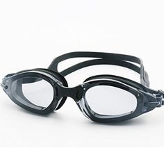 Little Cherry Adjustable AntiFog UV Protection No Leaking Prescription Optical Swim Goggles Best Quality Fashion Durable Soft and Comfortable Eyewear Black *** Want additional info? Click on the image.