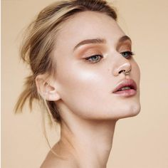 Don't over-draw your brows or lips.