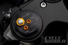 2015 Yamaha YZF-R1 adjustable KYB shocks