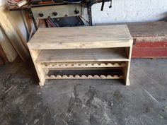 Pallet tv stand and wine rack