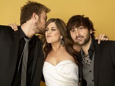 My favorite band, hands down. I adore Hillary Scott and the boys are good to look at.