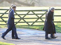 Willia, Harry, Charles e Camilla (Foto: Getty Images)