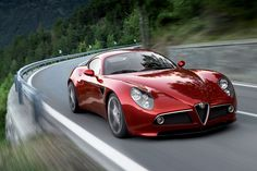 The 8C is everything an Alfa should be: fast, sleek and totally irresistible!