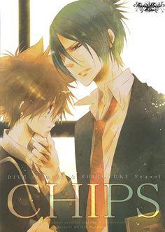 Katekyo Hitman REBORN! - Tsunayoshi 'Tsuna' Sawada x Mukuro Rokudo #manga #yaoi