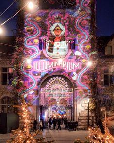 Illuminarium at Landesmuseum Winter Travel, Switzerland, Fair Grounds, Neon Signs, Instagram, Sequins, Blouse, Life, Beautiful Places