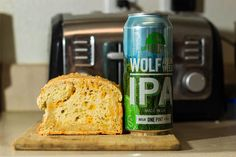 Wolf Among Weeds Cheesy Beer Bread
