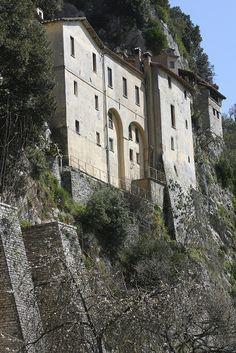 Santuario Eremo di Greccio, Rieti, Lazio, Italy