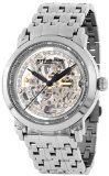 Stuhrling Original Men's 165A.33112 Classic Winchester Elite Automatic Skeleton Stainless Steel Watch - #watches #brandnamewatches #womenswatches -   A bold, eclectic design combines with the strength, durability and cool elegance of silver-tone stai