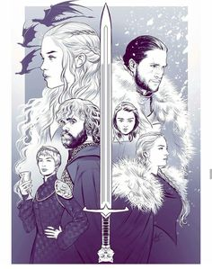 Game Of Throne: It's Time Again - Game of Thrones Game Of Thrones Cartoon, Dessin Game Of Thrones, Game Of Thrones Drawings, Game Of Thrones Artwork, Game Of Thrones Facts, Got Game Of Thrones, Game Of Thrones Quotes, Game Of Thrones Funny, Game Of Thrones Tumblr