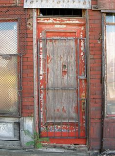 This blog features tons of cool doors found in Detroit