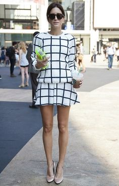 Trend Report: The Windowpane Prints We Love For Fall