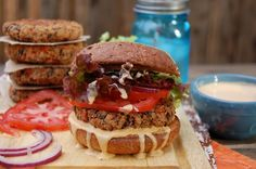 Clean food dirty girl - Stupid Simple Bean Burgers with Paprika Garlic Burger Sauce – Whole Food Plant Based